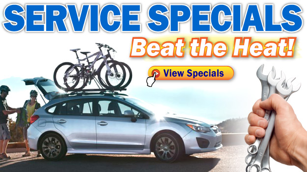 Summer Service Specials at Oak Motors