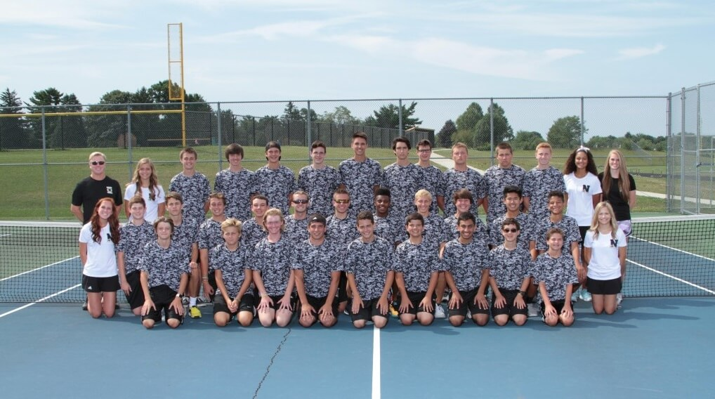Noblesville Millers Boys Tennis Team