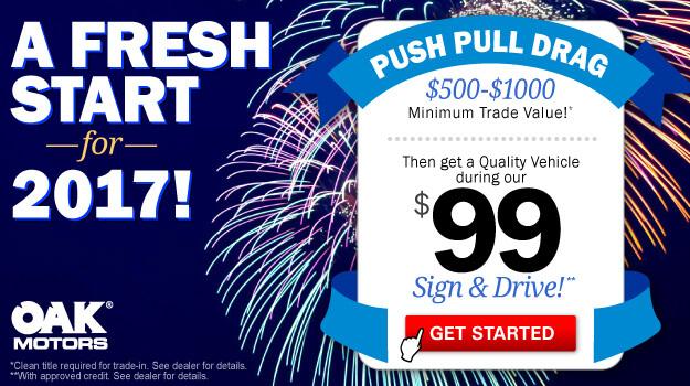 Fresh Start Sales Special