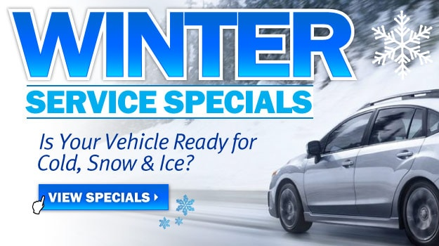 Winter Service Specials at Oak Motors