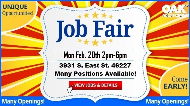 Job Fair at Oak Motors South