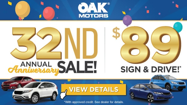 32nd Anniversary Sign And Drive Event