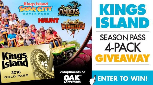 Kings Island Giveaway!