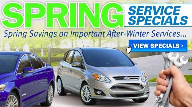 Spring Service Specials at Oak Motors