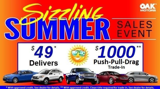 Sizzling Summer Sales Event