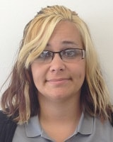 Tiffany Alford Cashier of Oak Motors East Used Car Lot in Indianapolis
