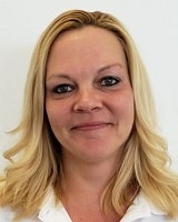 Kelly Coffman Cashier of Oak Motors East Used Car Lot in Indianapolis