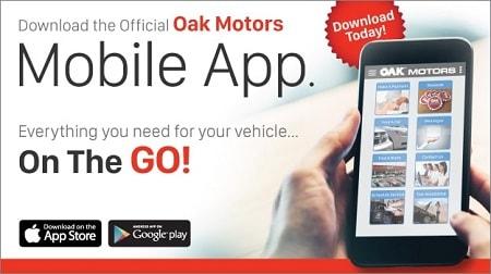 Oak Motors Mobile App