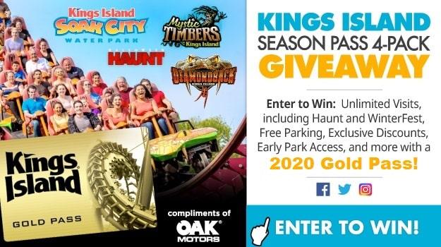 King's Island Season Pass Contest