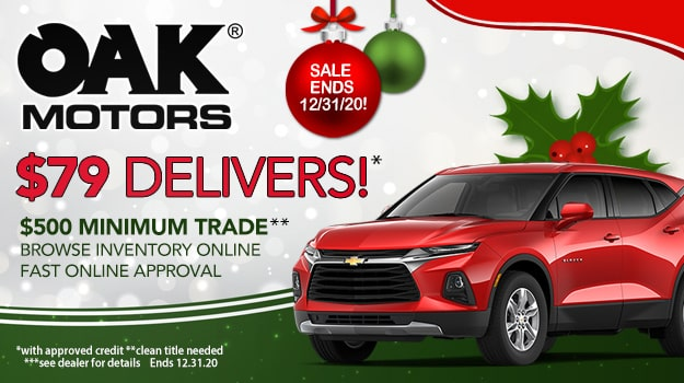 Oak Motors Holiday Sale