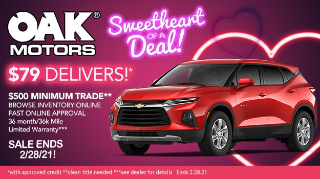 Sweetheart Of A Deal At Oak Motors