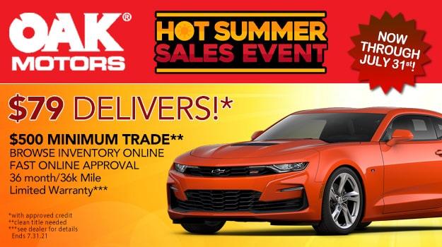 Hot Summer Sales Event